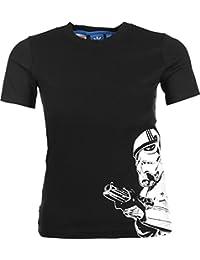 Adidas T-Shirt à manches courtes pour garçon modèle Star Wars Stormtrooper