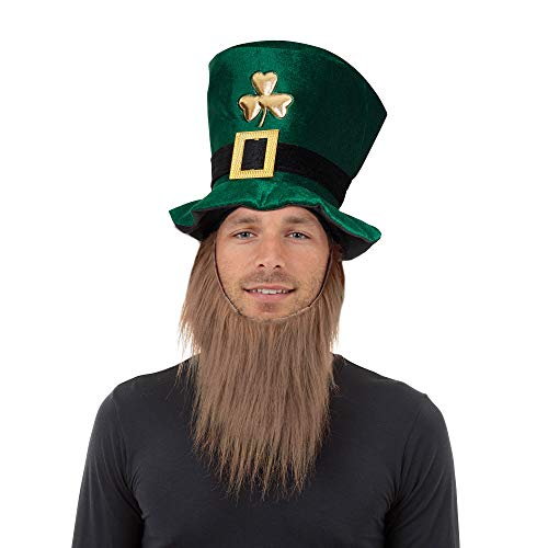 Fabric Leprechaun Hat with Beard (Mütze / Hut)
