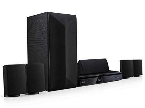 LG LHB625 Sistema Home Cinema Blu-ray 3D 5.1ch da 1000W con Smart TV e Bluetooth, Nero