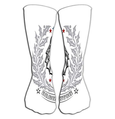 Xunulyn Hohe Socken High Socks Novelty Compression Long Socks for Men's Women and Girls 19.7
