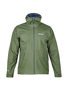 Berghaus Men's Stormcloud Waterproof Jacket - Forest, Small
