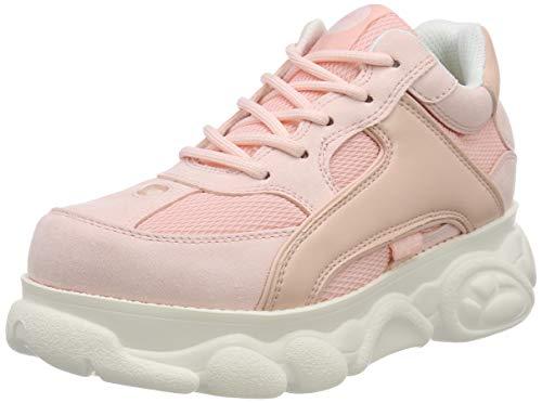 Buffalo Damen Colby Sneaker, Pink 000, 37 EU
