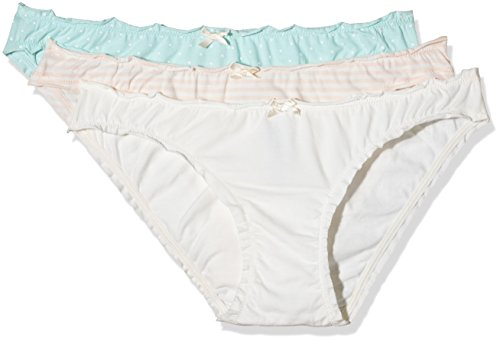 Women'Secret PM Candies 3BC, Set Slip Donna, Multicolore (Several), L