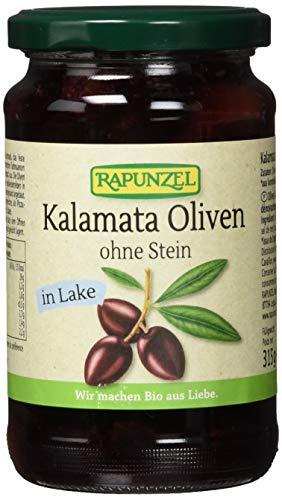 Rapunzel Oliven Kalamata violett, ohne Stein in Lake, 6er Pack (6 x 315 g) - Bio
