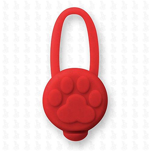 6 Stück Hunde Leuchtanhänger Leuchthalsband Led Hundehalsband LH10 Blinkie von Leuchthund® Led Anhänger (6 Stück gemischt – 1 je Farbe) - 2