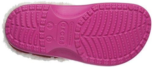 crocs Unisex-Erwachsene Clscmamthlndclg Clogs Pink (Candy Pink/Oatmeal)