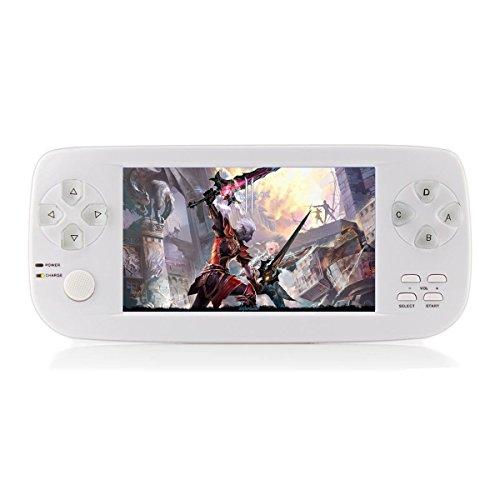 Console per videogiochi portatili, CXYP 4.3 pollici Videogioco portatile da 16 GB Costruito in 3000 giochi con fotocamera Nuova Versione