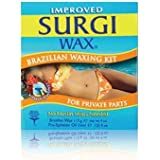 Surgi WAX Brazilian Waxing Kit for Private Parts 113 grm