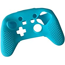 NF&E Gamepad Silicone Skin Case Protector For Nintendo Switch Pro Game Gampad Handle Grip Blue