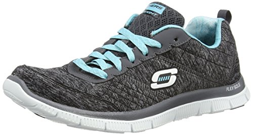 Skechers Damen Flex Appeal Pretty City Laufschuhe, Black (Bklb), 37 EU -
