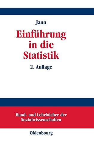 Einführung in die Statistik (Hand- und Lehrbücher der Sozialwissenschaften)