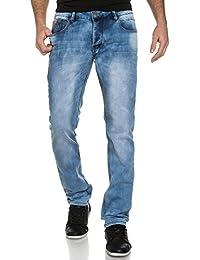 Deeluxe 74 - Jogg Jeans Bleach Homme Coupe Ajustée