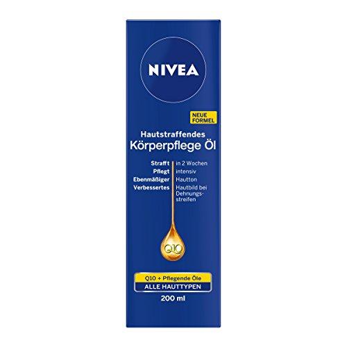 NIVEA Hautstraffendes Körperpflege Öl mit Q10, 200 ml Flasche