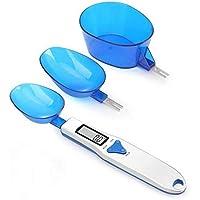 Balanza Digital Para Alimentos Cocina LCD Balanza Digital Cuchara Medidora Electrónica Cuchara De Pesaje Balanzas De
