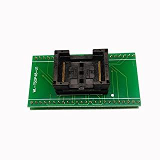 Wholesale ANDK Standard TSOP48 pitch 0.5mm Open Top Programming Socket IC354-0482-031/035 IC Test Socket Flash Programmer Adapter