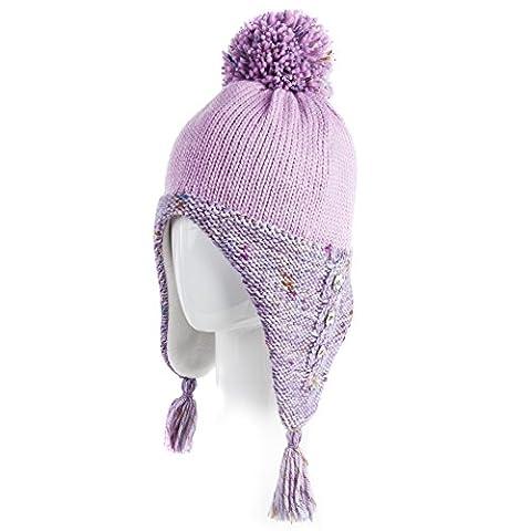 Siggi - Bonnet - Femme taille unique - violet -