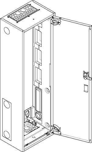 ABN System-Gehäuse S16 Zähler-Leergehäuse 4015153000032
