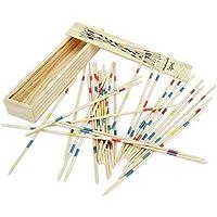 SaffronMist Mikado Spiel Wooden Sticks Game - Fun Game