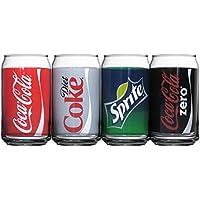 Luminarc Coca-Cola varios decorado latas, dieta incluye Coque, Coque, Coque cero