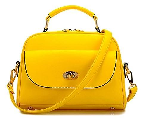 TianHengYi , Mädchen Tasche , gelb - gelb - Größe: S