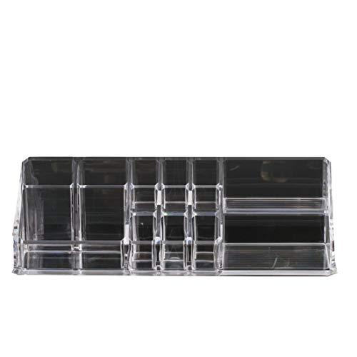 Mkulxina Cristal Transparente Caja Almacenamiento