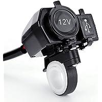 CLE DE TOUS - 12v Conector Toma de corriente mechero Encendedor USB para moto
