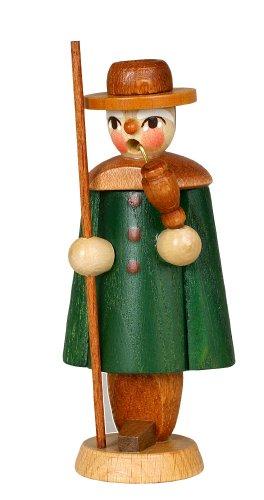 Un'altezza di verde del pastore della figurina dell'armadietto di esposizione di 9.5 montagne del minerale metallifero di Natale di Seiffen della scatola della regolazione di cm NUOVE