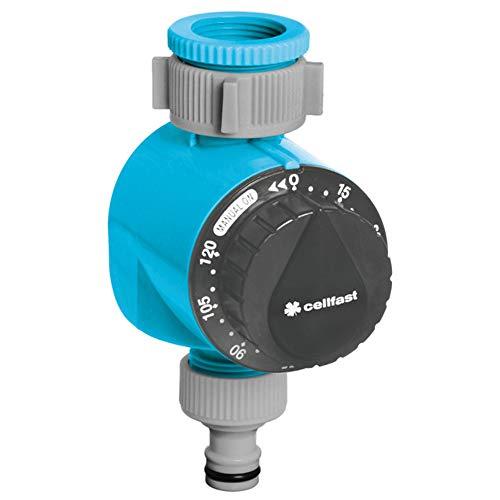 Cellfast IDEAL Bewässerungsuhr, Blau, 0, 15x0,1 cm