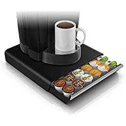 Mind Reader 'Hero' für 36 Dolce Gusto / Keurig K-Cup / Verismo / CBTL Kapseln, Black Kaffee Pod Storage Schublade