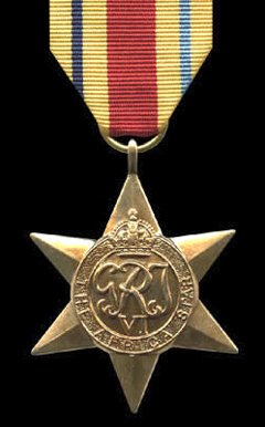 British WW2 Africa Star