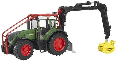 BRUDER - 03042 - Tracteur forestier FENDT 936 Vario vert