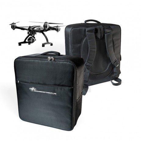 Kompakter Yuneec Typhoon Q500 Rucksack + kostenloses Flugnachweisheft - hochwertig und leicht zu Tragen - viel Platz für Zubehör - Koffer Rucksack -