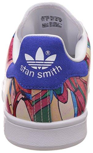 adidas Originals Stan Smith W Mesdames formateurs Blanc S32036 Multicolore