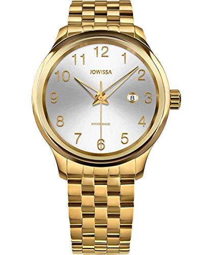 Jowissa Tiro Swiss J4.247.L - Reloj de Pulsera para Hombre, Color Plateado y Dorado