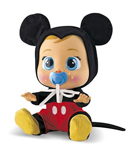 IMC Toys-Bambino llorón Mickey Mouse, Multicolore (97858)