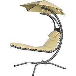 Chaise longue suspendue Nest Move Sable