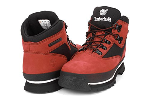 Timberland Authentics Ftk, Boots mixte enfant Red Nubuck