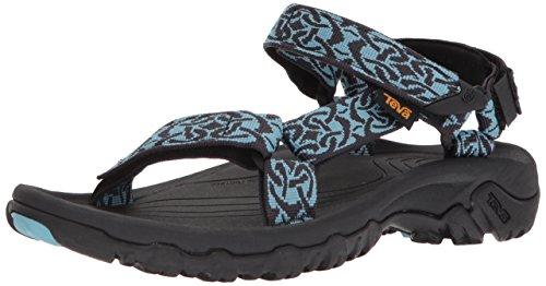 Teva-aqua-schuhe (Teva Women's W Hurricane 4 Sport Sandal, Celtic Aqua, 7 M US)