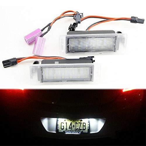 Preisvergleich Produktbild PolarLander 2X LED Kennzeichenbeleuchtung