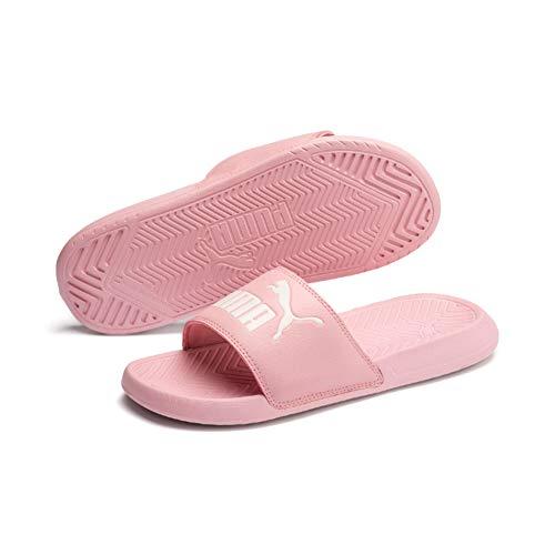 Puma Popcat, Zapatos de Playa y Piscina Unisex Adulto, Rosa (Bridal Rose-Pastel Parchment 48), 37 EU
