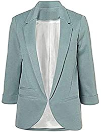 6177b92622b4 Imbry Boyfriend Blazers for Women Cool and Fashionable Casual Suit Coat  Jacket