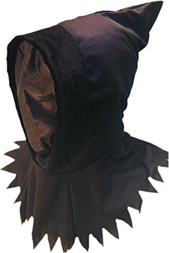 Smiffy's - Gespenstkapuzenmaske Gespenst Kapuze Maske Ninjamaske Ninja Braun (Kostüme Ninja Authentische)