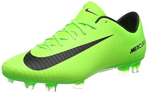 Nike Herren Mercurial Veloce Iii FG Fußballschuhe, Grün (Electric Green/Black Flash Lime-White), 45 EU