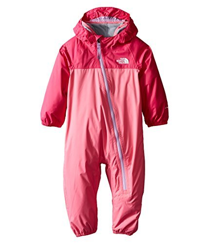 Face The 3m North (The North Face Infant Tailout Triclimate Waterproof Onesie Cha Cha Pink 3-6M)