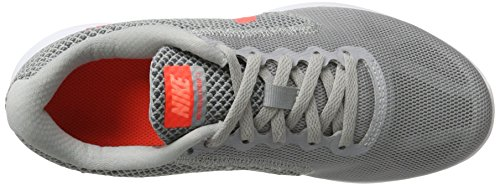 Nike Damen Revolution 3 Laufschuhe Grau (Wolf Grey/Hyper Orange/Cool Grey)