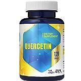 Quercetina 316 mg x 120 Capsules Suministro de 4 Meses - Suplemento antioxidante de alta potencia Salud inmunológica