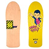 Madrid di skateboard Deck con design in der Netflix Serie Stranger Things 2, Eleven Yel, zucca, 29.5