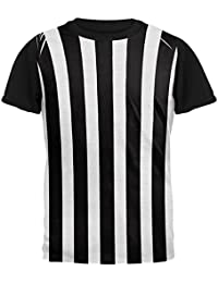 6b89bba955c1 Halloween-Kostüm auf der Ganzen Mens Black Back T Shirt Schiedsrichter