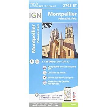 Montpellier, Palavas-Les Flots : 1/25 000