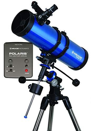 Telescopio Reflector Meade Polaris 130 EQ Motorizado